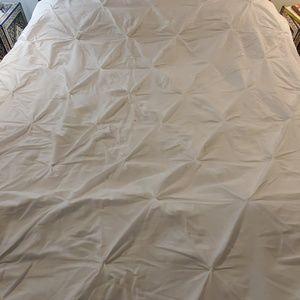 Threshold Bedding - White Duvet cover Full Queen